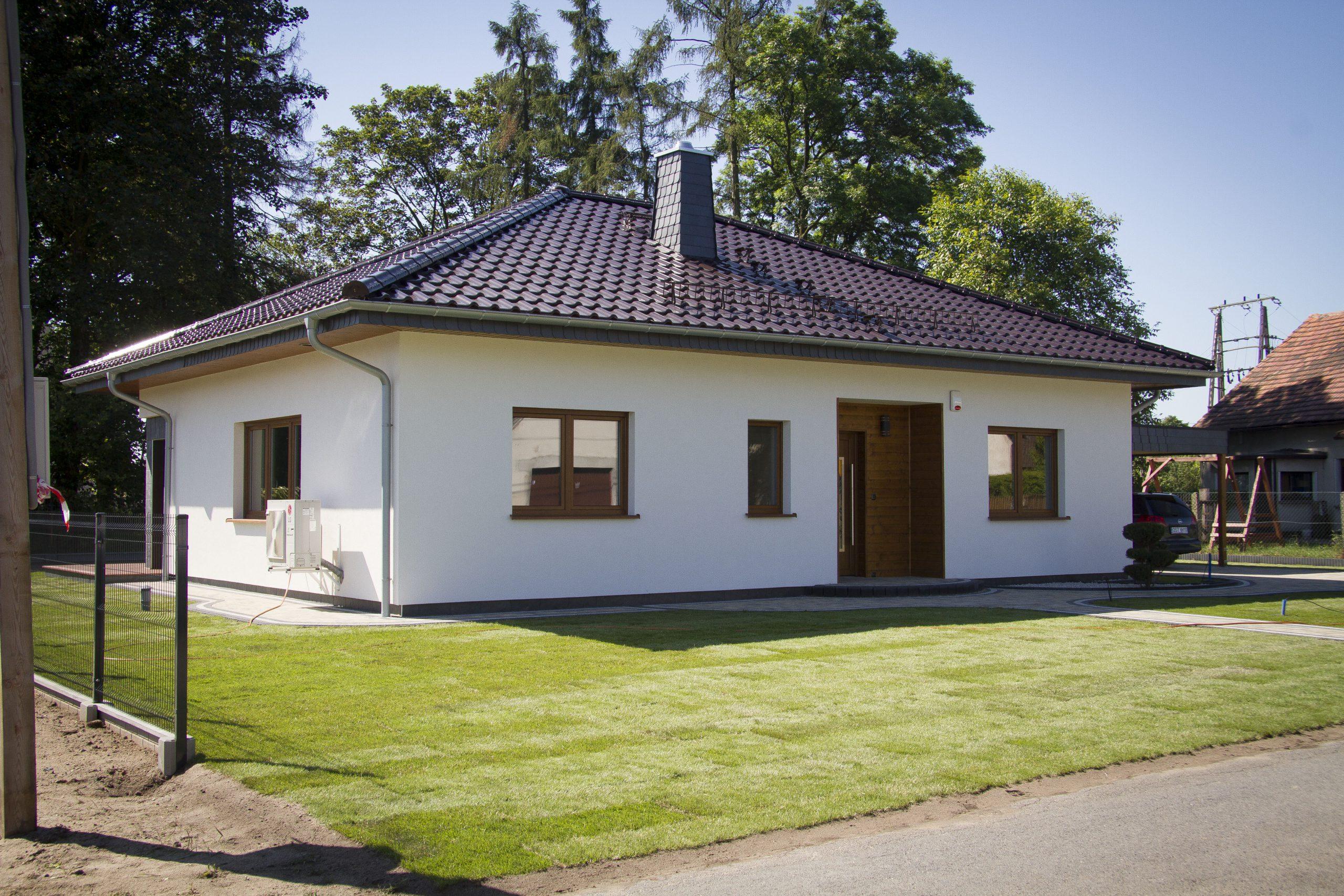 Rośnie popularność na domy prefabrykowane.